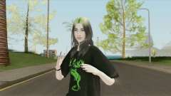 Billie Eilish HQ для GTA San Andreas