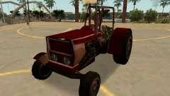 Стэнли Трактор Ржавый С Значки И Массовка для GTA San Andreas