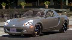 Toyota MRS2 Spyder PJ5 для GTA 4