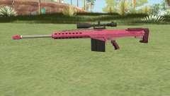 Heavy Sniper GTA V (Pink) V1 для GTA San Andreas
