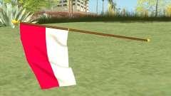 Indonesian Flag для GTA San Andreas