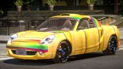 Toyota MRS2 Spyder PJ4 для GTA 4