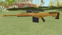 Heavy Sniper GTA V (Gold) V1 для GTA San Andreas
