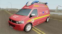 Volkswagen Transporter (SMURD) для GTA San Andreas