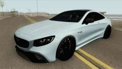 Mercedes-Benz S63 AMG Black для GTA San Andreas