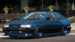 1986 Toyota Corolla Tuned для GTA 4
