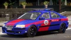 Volvo S60R Police V1.0 для GTA 4