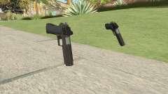 Heavy Pistol GTA V (OG Black) Base V1 для GTA San Andreas