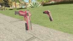 Heavy Pistol GTA V (Pink) Flashlight V2 для GTA San Andreas