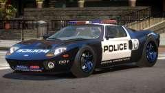 Ford GT1000 Police V1.1 для GTA 4