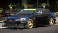 Mitsubishi Lancer X TDI для GTA 4