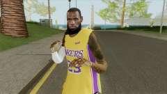 Lebron James (Lakers) для GTA San Andreas