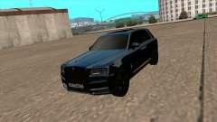 Rolls Royce Cullinan 2019 Black для GTA San Andreas