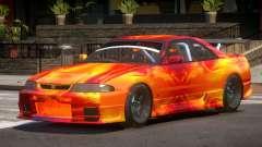 Nissan Skyline GT R33 SE PJ3 для GTA 4