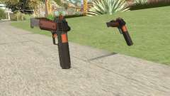 Heavy Pistol GTA V (Orange) Base V2 для GTA San Andreas