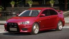 Mitsubishi Lancer Evolution X ST для GTA 4