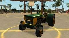 Трактор Стэнли с значки и массовка для GTA San Andreas