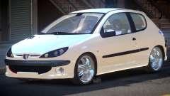 Peugeot 206 1.6i для GTA 4