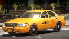 Ford Crown Victoria Taxi NY для GTA 4