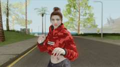 Random Female V6 (GTA Online) для GTA San Andreas