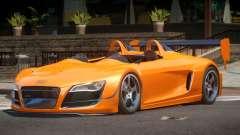 Audi R8 GT Roadster для GTA 4