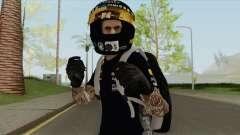 Random Male (Motorcycle Helmet) для GTA San Andreas
