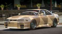 Nissan Skyline GT R33 SE PJ2 для GTA 4