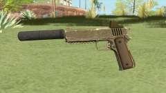 Heavy Pistol GTA V (Army) Suppressor V1 для GTA San Andreas