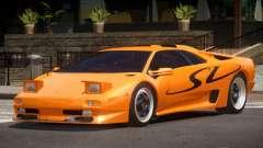 1995 Lamborghini Diablo SV V1.0 для GTA 4