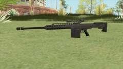 Heavy Sniper GTA V (Black) V3 для GTA San Andreas