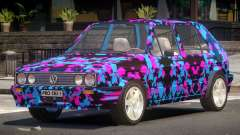 Volkswagen Golf Old PJ4 для GTA 4