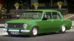 Fiat 124 V1.0 для GTA 4