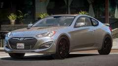 Hyundai Genesis RS PJ1 для GTA 4