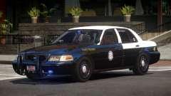 Ford Crown Victoria FS Police V1.1 для GTA 4