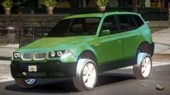 BMW X3 V1.0 для GTA 4