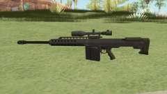 Heavy Sniper GTA V (Green) V1 для GTA San Andreas
