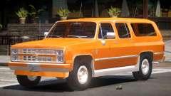 Chevrolet Suburban Old для GTA 4