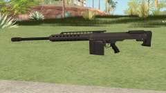 Heavy Sniper GTA V (Black) V2 для GTA San Andreas