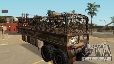 МТЛ казармы трейлер Semi для GTA San Andreas