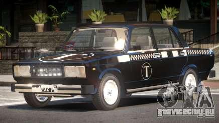 VAZ 2105 Taxi V1.0 для GTA 4