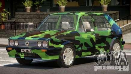 Volkswagen Golf Old PJ3 для GTA 4