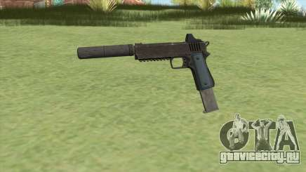Heavy Pistol GTA V (LSPD) Suppressor V2 для GTA San Andreas