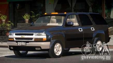 Chevrolet Tahoe ST для GTA 4