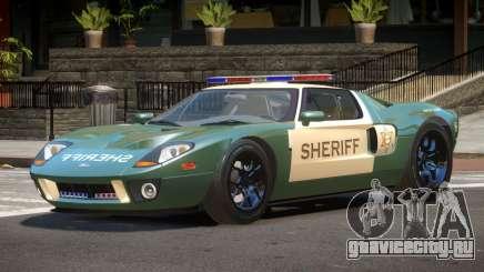 Ford GT1000 Police V1.2 для GTA 4