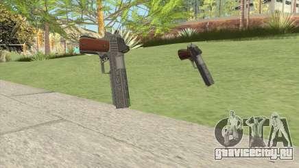 Heavy Pistol GTA V (Luxury) Base V1 для GTA San Andreas