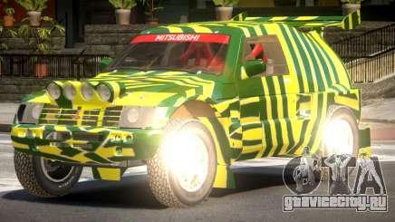 Mitsubishi Pajero Rally Sport PJ1 для GTA 4