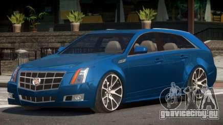 Cadillac CTS V1.0 для GTA 4