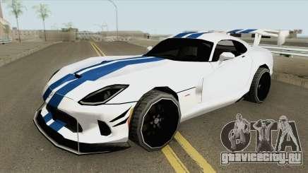 Dodge Viper ACR (Extreme Aero) 2016 для GTA San Andreas