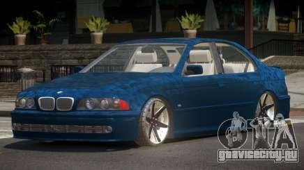 1997 BMW 525i E39 для GTA 4