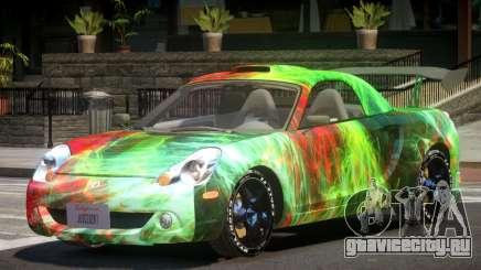 Toyota MRS2 Spyder PJ3 для GTA 4